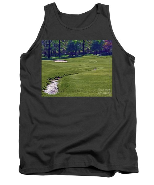 Golf Hazards Tank Top