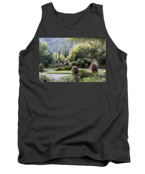 Golf Paradise Tank Top by Fred Larson