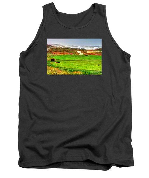 Golf Tee At Spyglass Hill Tank Top