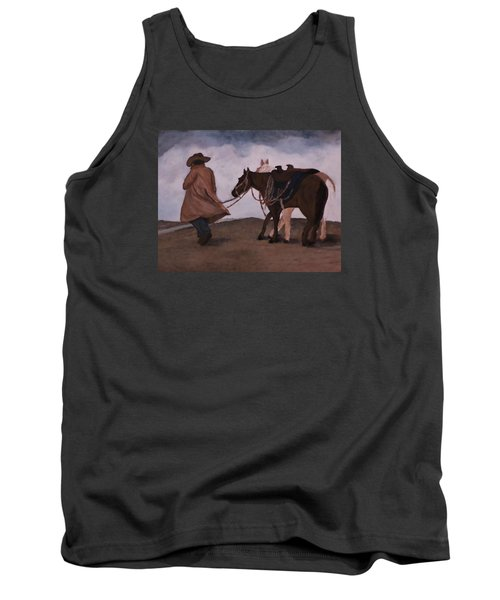 Good Day For A Walk Tank Top by Christy Saunders Church