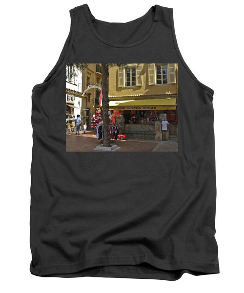 Tank Top featuring the photograph Good Morning Monaco by Allen Sheffield
