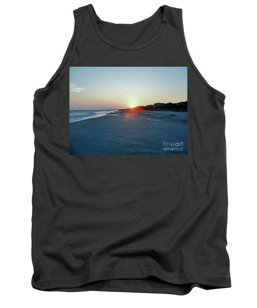 Tank Top featuring the photograph Good Night Day by Roberta Byram
