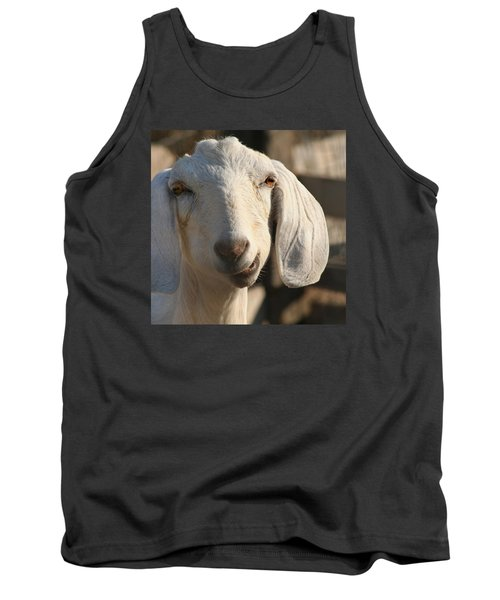 Goofy Goat Tank Top by Art Block Collections