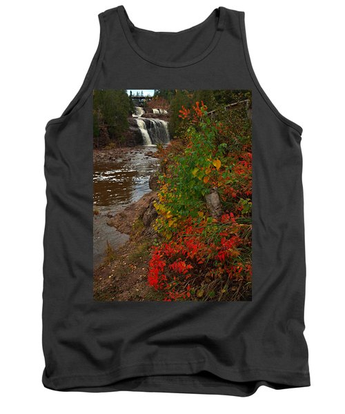 Gooseberry Foilage Tank Top by James Peterson