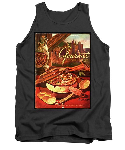 Gourmet Cover Featuring A Pot Of Stew Tank Top