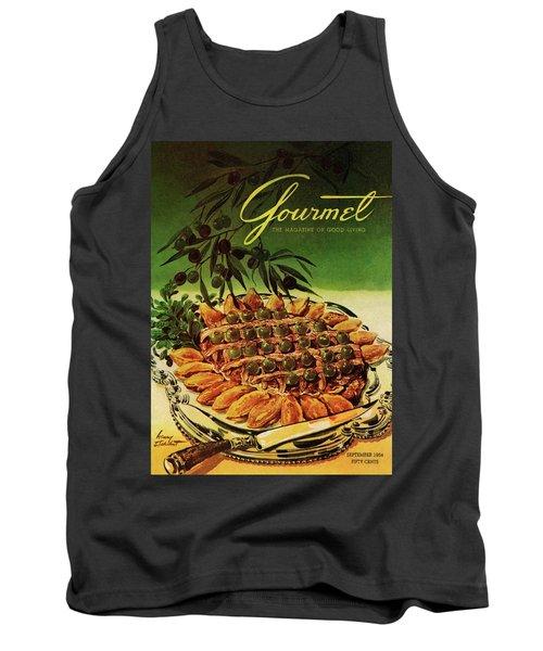 Gourmet Cover Illustration Of Entrecote A La Tank Top