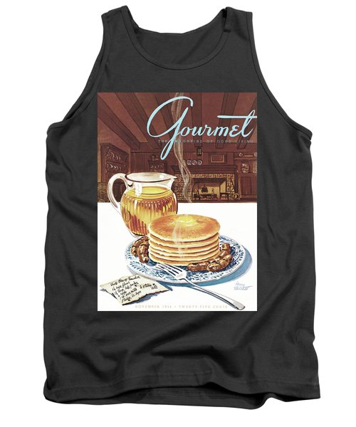 Gourmet Cover Of Pancakes Tank Top