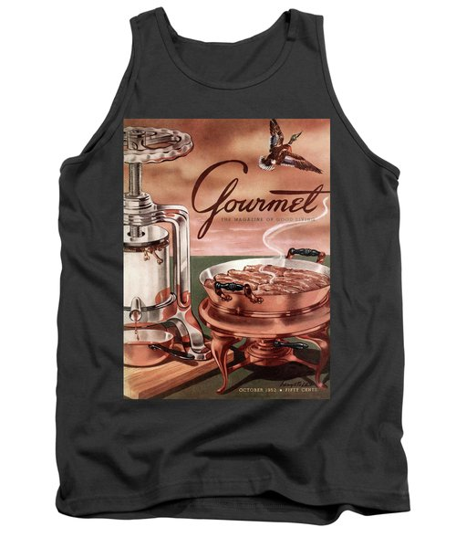 Gourmet Cover Of Pressed Duck Tank Top