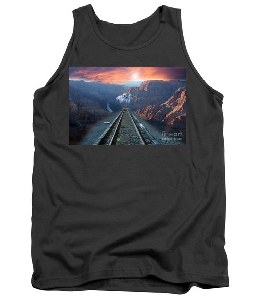 Grand Canyon Collage Tank Top