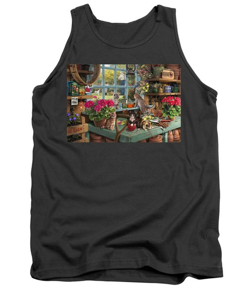 Grandpa's Potting Shed Tank Top