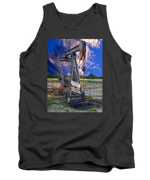 Tank Top featuring the photograph Grasshopper by Ella Kaye Dickey