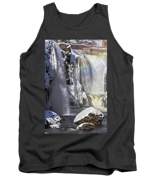 Great Falls And A Rainbow Tank Top