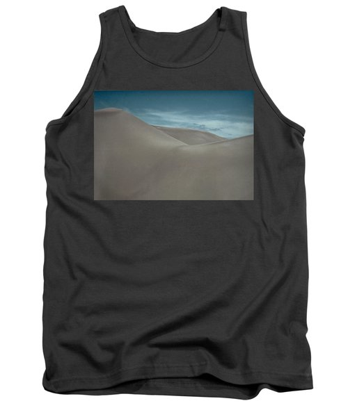 Tank Top featuring the photograph Great Sand Dunes by Don Schwartz