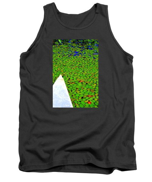 Green Dream Tank Top by Zafer Gurel