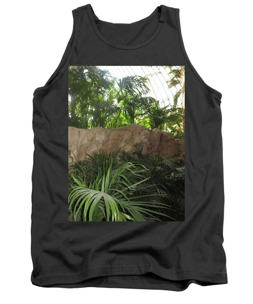 Tank Top featuring the photograph Green Interiors Vegas Casinos Resorts Hotels by Navin Joshi