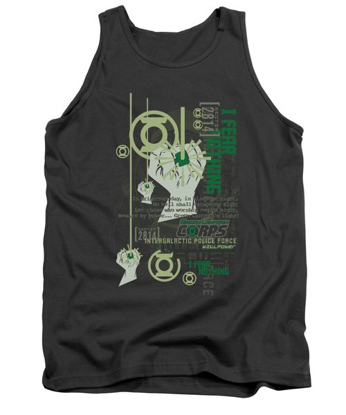 Green Lantern - Core Strength Tank Top