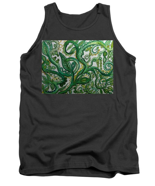 Green Meditation Tank Top