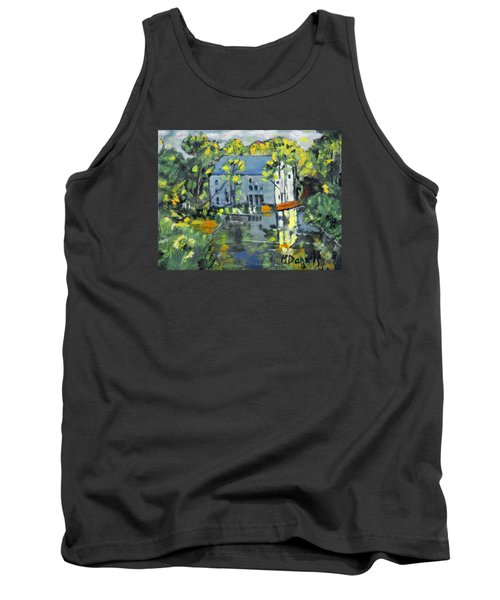 Green Township Mill House Tank Top by Michael Daniels