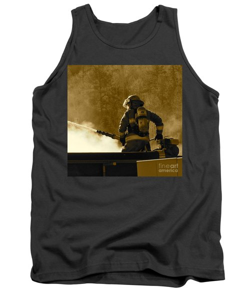 Greer Lodge  Tank Top by Pamela Walrath