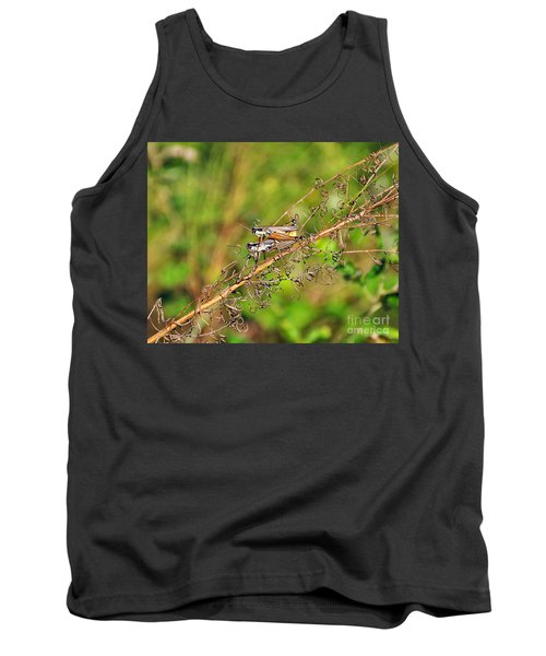 Gregarious Grasshoppers Tank Top