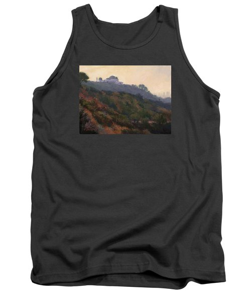 Griffith Park Observatory- Late Morning Tank Top by Jane Thorpe