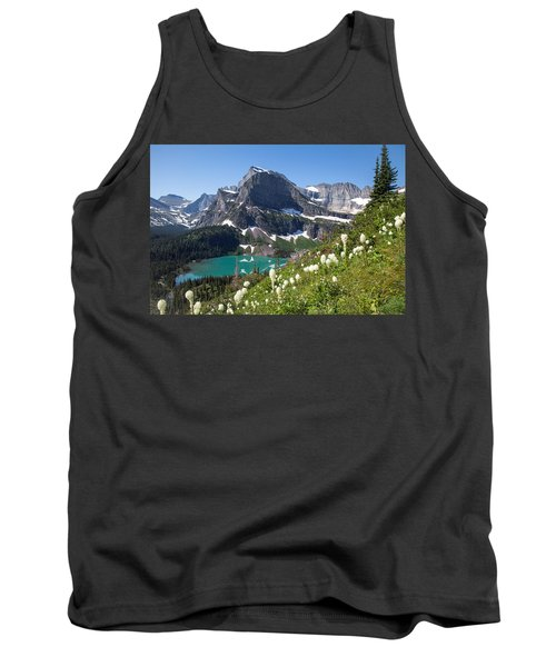 Grinnell Lake With Beargrass Tank Top