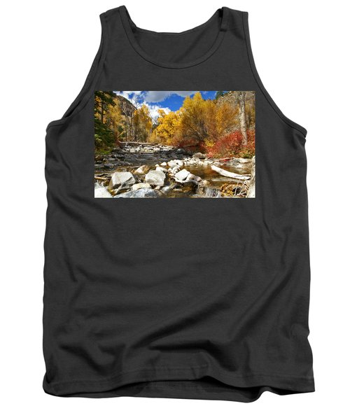 Tank Top featuring the photograph Grizzly Creek Canyon by Jeremy Rhoades