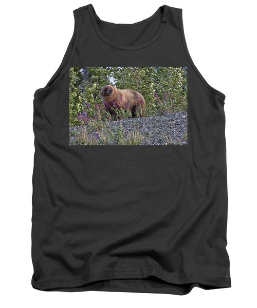 Grizzly Tank Top by David Gleeson