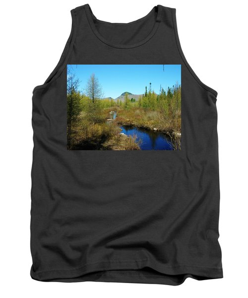 Tank Top featuring the photograph Groton State Forest Moose Country by Sherman Perry