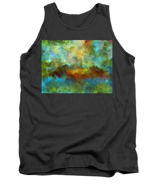 Grotto Tank Top by Ely Arsha