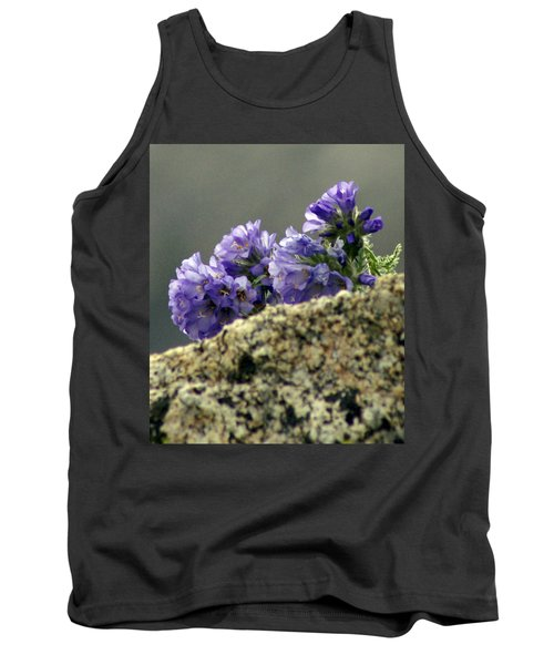 Tank Top featuring the photograph Growing In Granite by Jeremy Rhoades