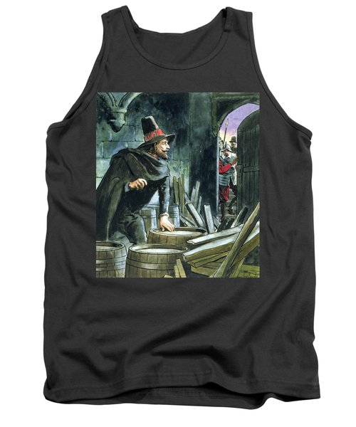 Guy Fawkes, From Peeps Into The Past Tank Top