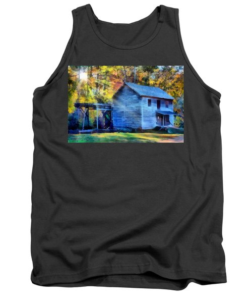 Hagood Mill With Sunrays Tank Top