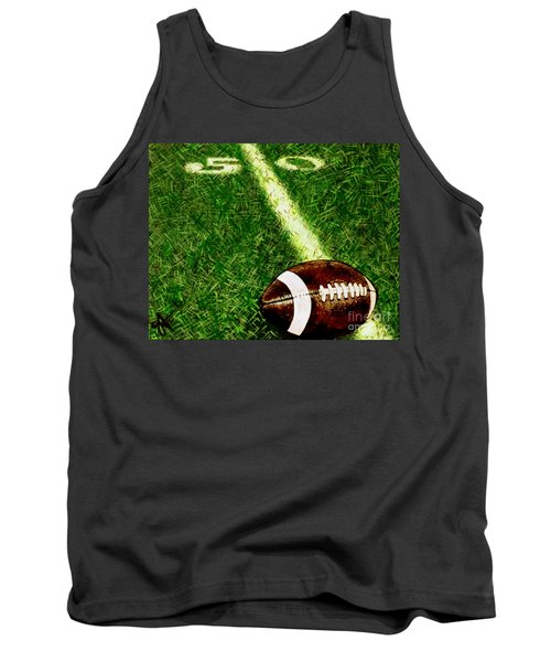 Tank Top featuring the painting Halfway There  by Jackie Carpenter