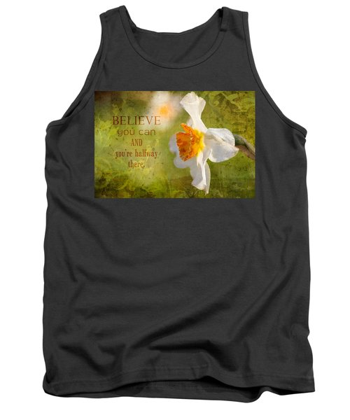 Halfway There With Message Tank Top