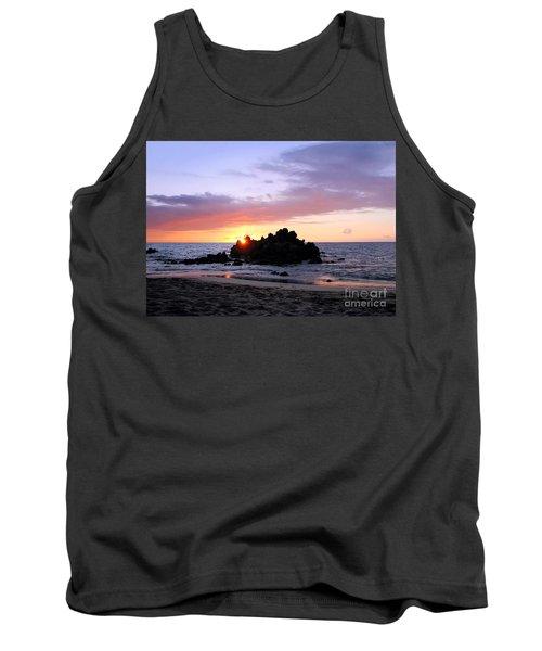 Tank Top featuring the photograph Hali A Aloha by Ellen Cotton