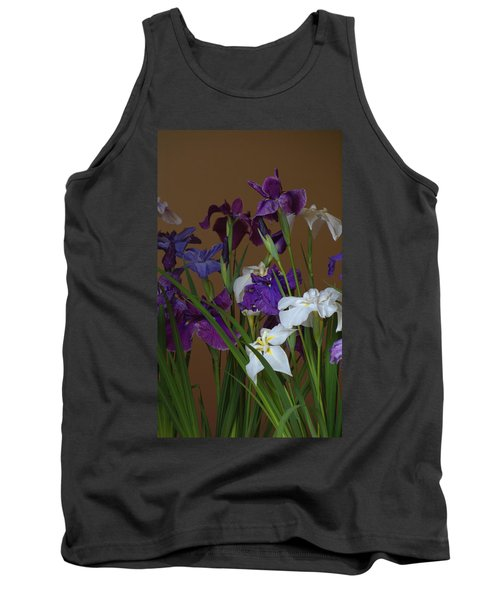 Tank Top featuring the photograph Hanashoubu by Rachel Mirror