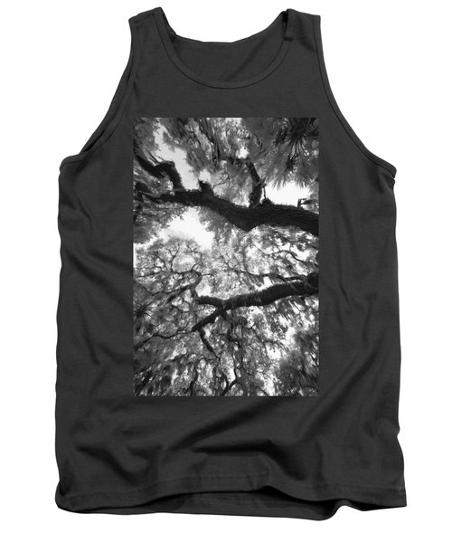 Tank Top featuring the photograph Hanging Moss by Bradley R Youngberg