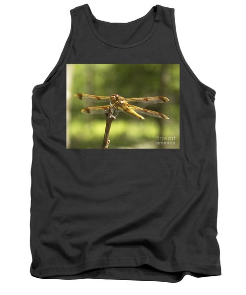 Happy Dragonfly Tank Top by Patrick Fennell