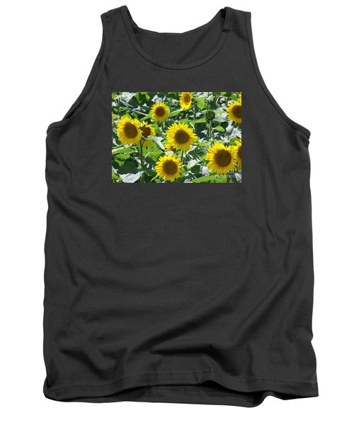 Tank Top featuring the photograph Happy Faces by Jackie Mueller-Jones