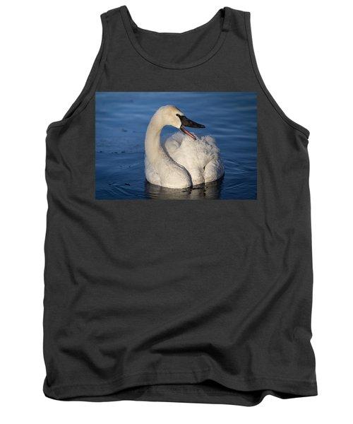 Happy Swan Tank Top by Patti Deters
