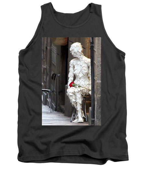 Happy Valentines Day Tank Top by Jennifer Wheatley Wolf