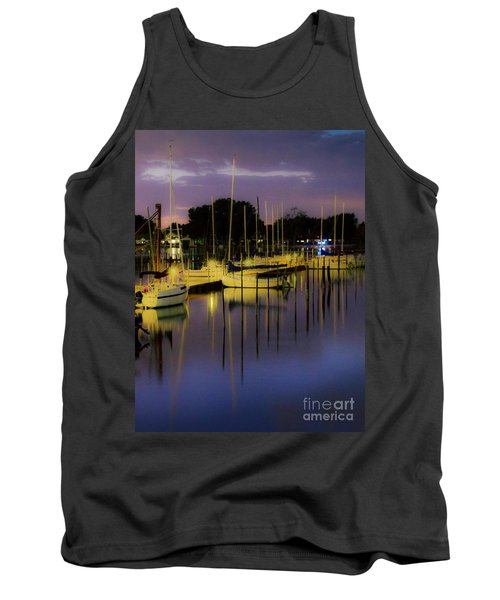 Harbor At Night Tank Top