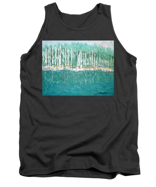 Harbor Shores Tank Top by George Riney