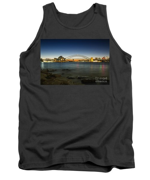 Harbour Night Tank Top by Andrew Paranavitana