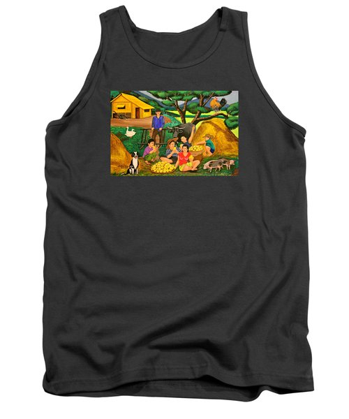 Harvest Time Tank Top by Lorna Maza