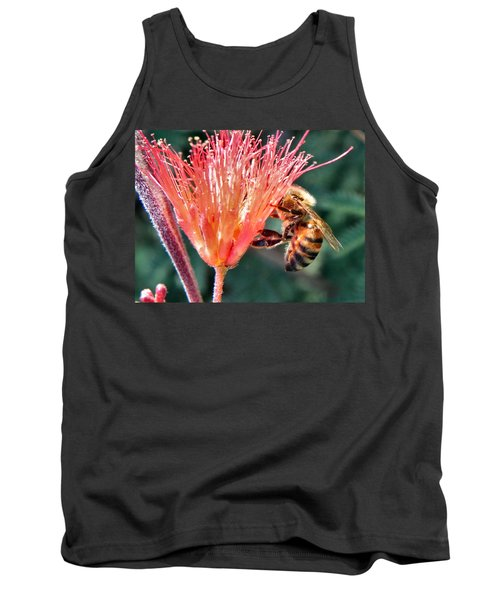 Tank Top featuring the photograph Harvesting by Deb Halloran