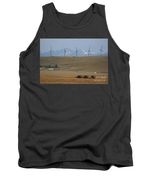 Harvesting Wind And Grain Tank Top