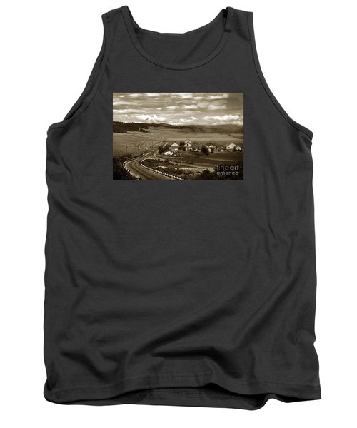 Hatton Ranch Carmel Valley From Highway One California  1940 Tank Top
