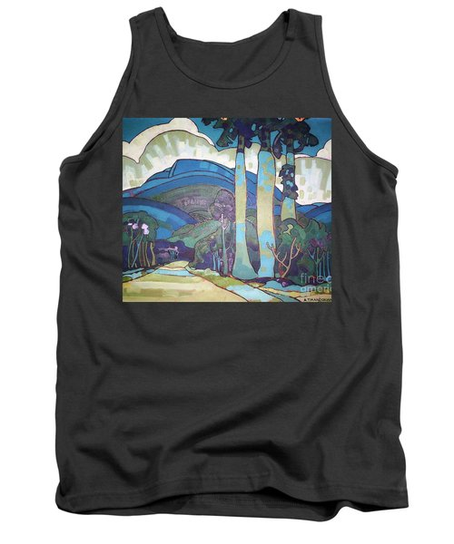 Hawaiian Landscape Tank Top
